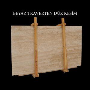 Efesus Stone, Beyaz Traverten Plaka