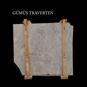 Efesus Stone, Gümüş Traverten Plaka